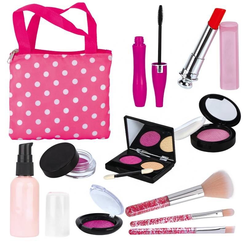 Kits Cosmetic Kids Cosmetics Set Girl 9 Years Old Toy Educational Soft Girls Toys Makeup