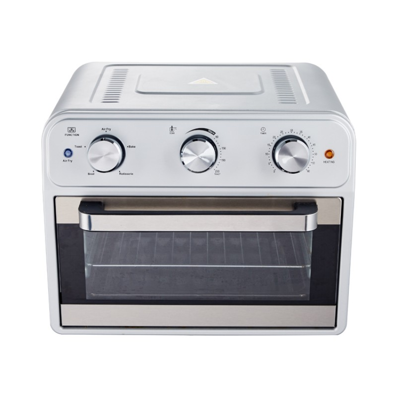 Power Air Fryer Oven with Big Capacity of 21 Litres and Oven Thermometer for Home Use and Food Baking