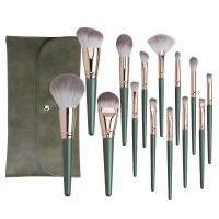Beauty Tools Personalized High End Set Of Face Makeup Brushes With Bag