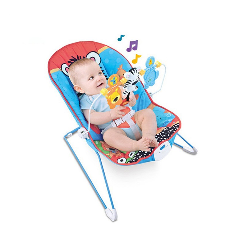 Baby Music Rocking Chair Vibrate Rocking Chair Toy Baby Swing