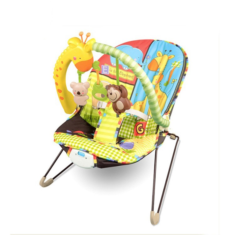 Comfortable Automatic Electronic Vibrate Carry Rocking Chair Baby Swing For Baby