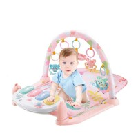 Educational Hit Seller Crawl Cotton Fabric Girl Musical Music Child Play Plush 2021 Toy Piano Baby Mat