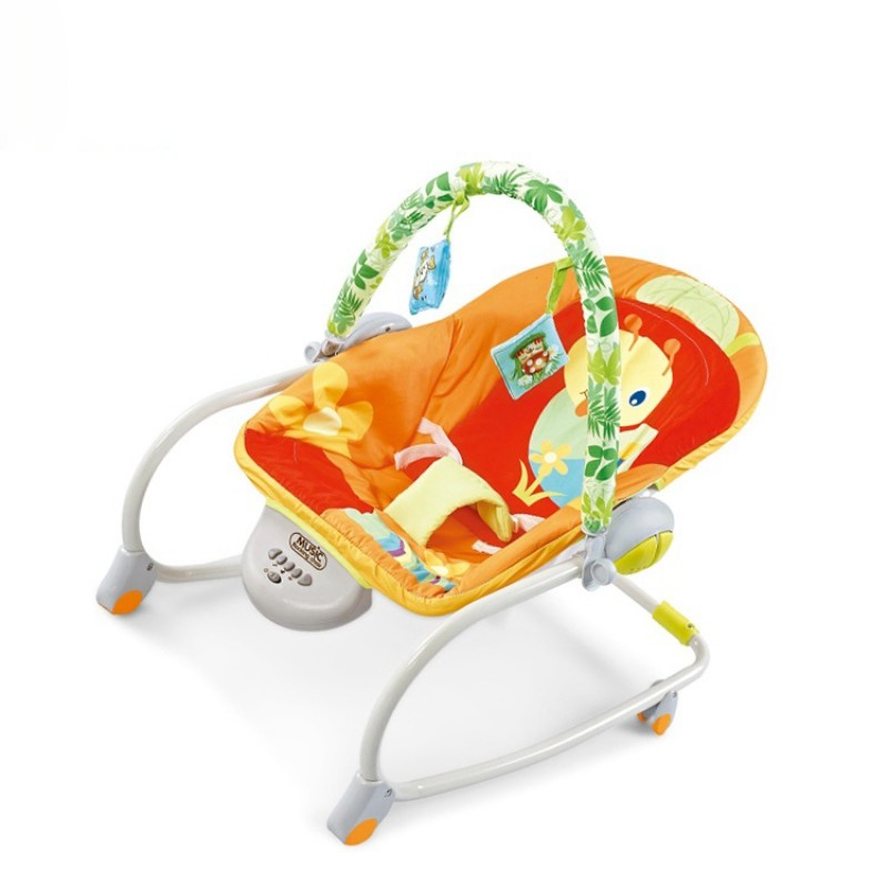 Cradle Newborn Rocking Chair Music Electric High Tech Automatic Bed Baby Swing,Bouncer And Swing For Newborn Baby