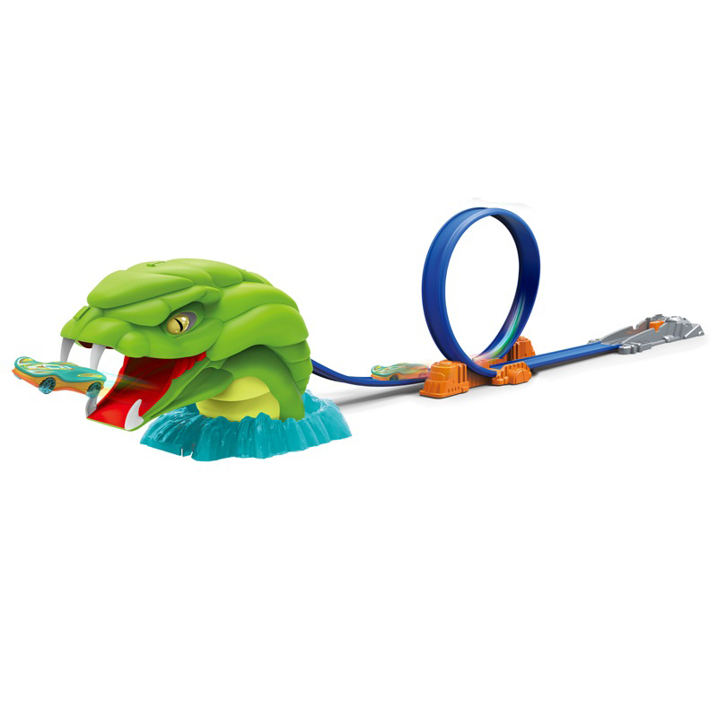 Python Scene Ejection Track Alloy Car Boy Toy