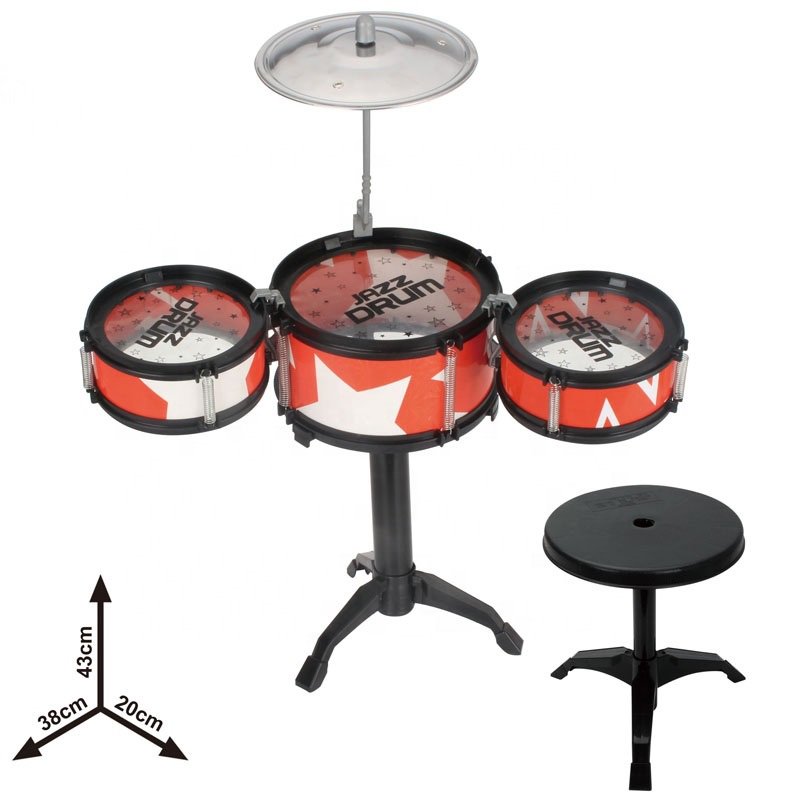 The Latest Plastic Trumpet Jazz Learning Toy Drum