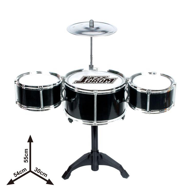 Children Jazz Drum Set 3 Drums In 1 Set Hot Sale Musical Toy