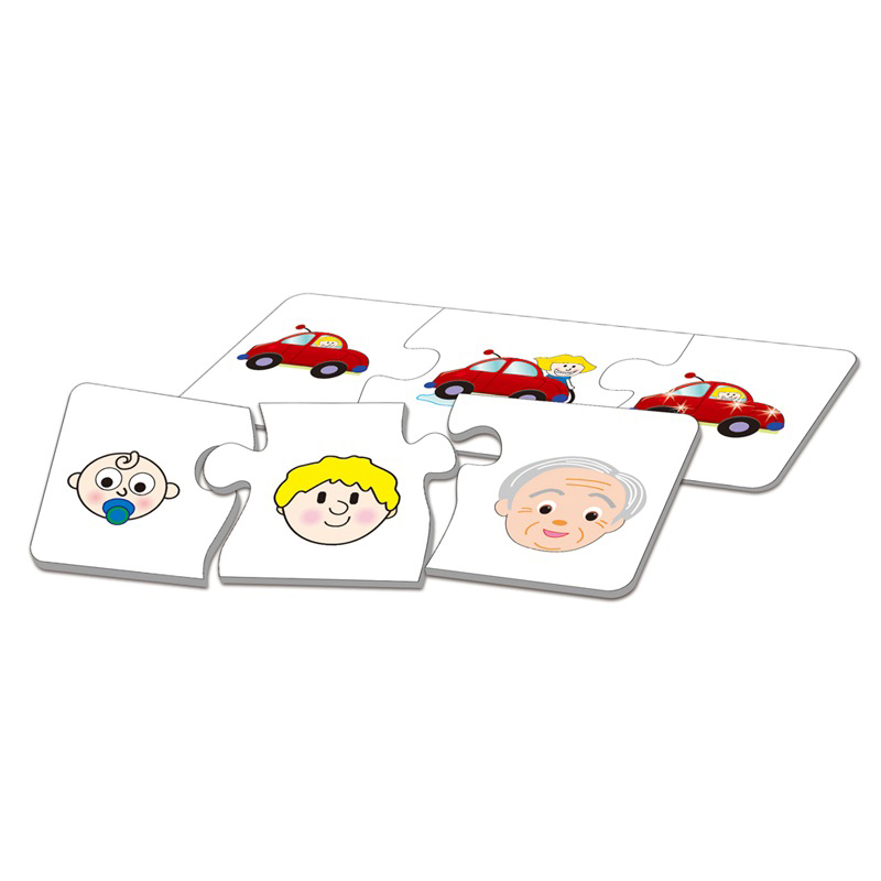 New Funny Educational Toy Match Picture Paper Puzzle For Children Toys