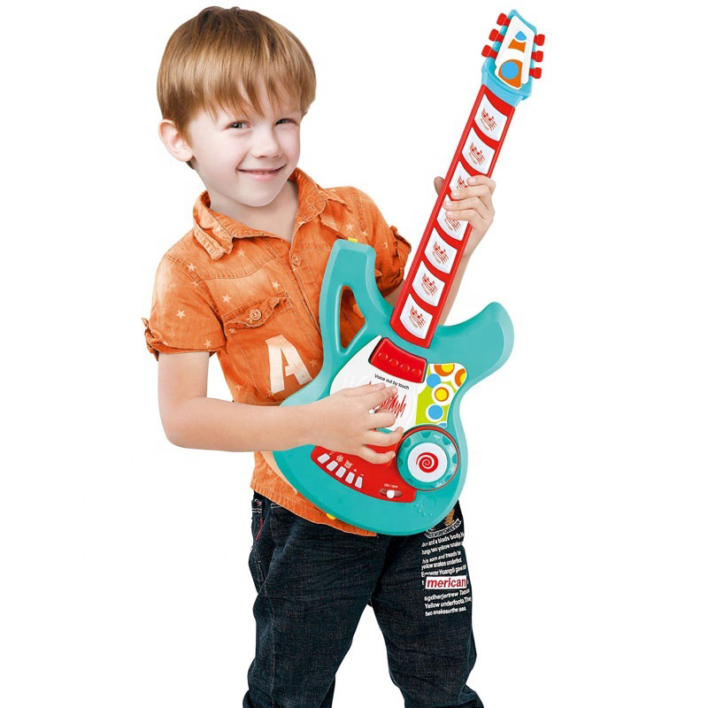 2021 Children Learn Multi-functional Induction Electric Guitar Toys