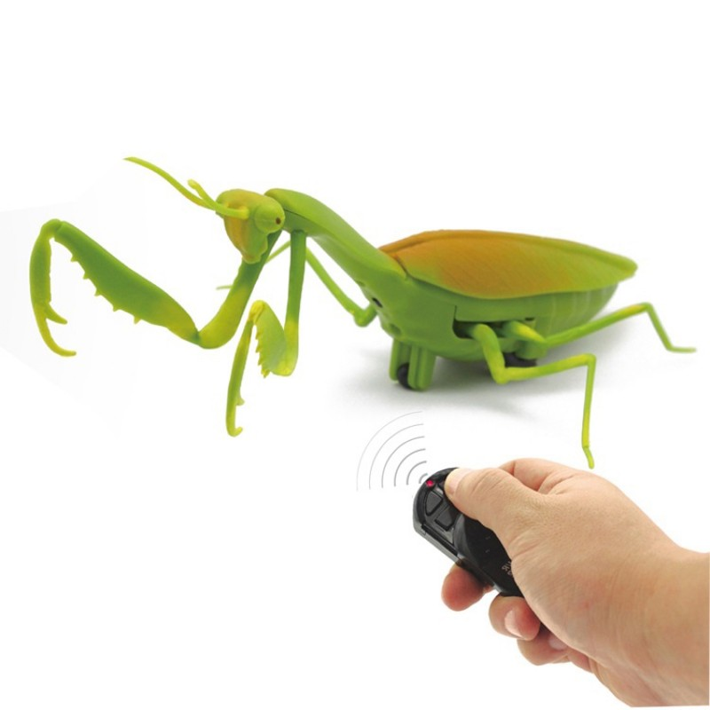 2021 Prank Insect Remote Rc Infrared Electronic Simulation Mantis Toy