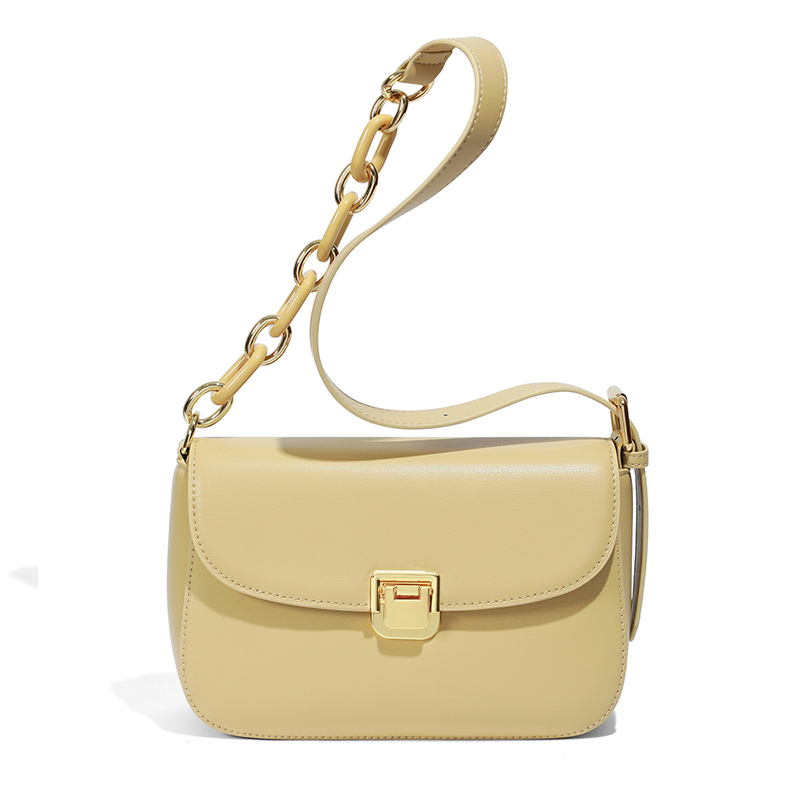 Fashion wholesale price genuine leather casual shoulder handbags for women
