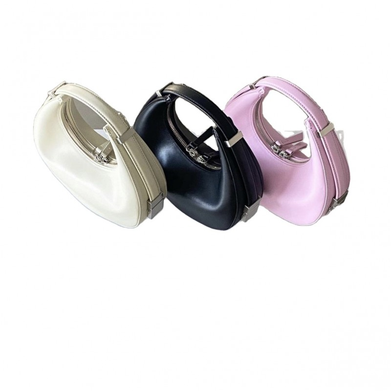 Luxury half moon hobo underarm armpit leather Mini Women Purses And Handbags for women