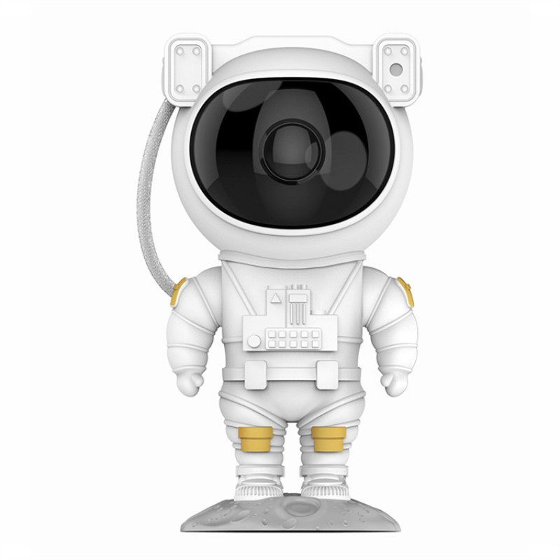 Astronaut Spaceman Resin Projector Night Light Rotating Star Projector Led Night Lights For Kids Gift