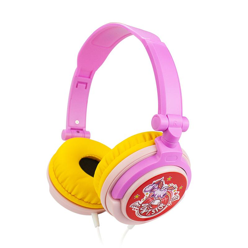 PINK Kids Headphones Hearing Protection With Sharing Port For kids