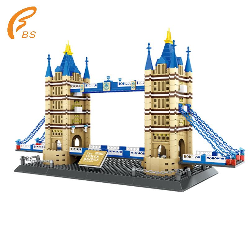 London Twin Bridges Children's Practical Ability Education Toy Brick