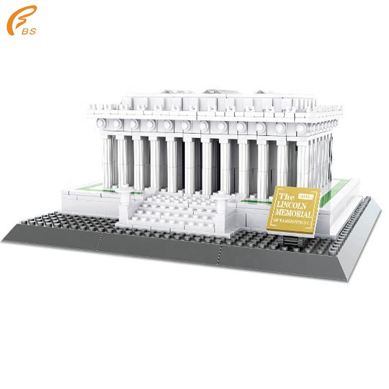 Hot Sale Memorial Usa Diy 979pcs Building Blocks