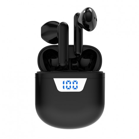 Factory Price G55 Tws Wireless Earphones Powerbank Power LCD Display Earbuds Wireless Headphones