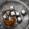 Customized Color Stainless Steel Copper Whiskey Rocks Whiskey Stones Stainless Steel Chilling Ice Cube Stainless Steel Ice Cube