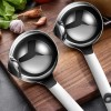 wholesale 304 Stainless Steel Sifting Oil Ladle Oil Filter Cooking Oil Filter Scoop Multipurpose Round stainless steel Colander